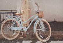 Ride on a pretty bike
