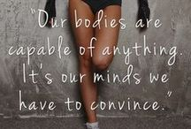 Let's get fit. / Because fitness of the body and mind makes you a better version of yourself.
