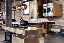 Open kitchen / Open kitchen, contemporary