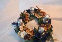 Advent wreaths 2015 / my handwork