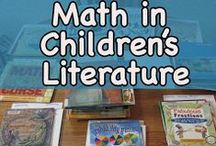 Math Literature / Do you like to integrate math and reading? Take a look at the suggestions of books to read during your math class.