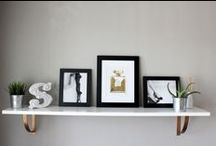 Stylish shelves #shelfie / Shelf inspiration and ideas