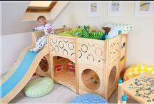 детская / детская спальня, интерьер детской, идеи по организации пространства