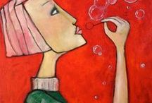 art  paintings  acrylic / Paintings Acrylic Art  monicablom