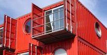 shipping container houses / Здания и сооружения из морских транспортных контейнеров