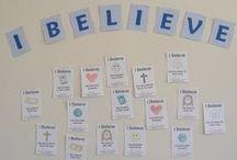 Religious Education Craft Ideas / by Rita Laguna