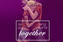 PJ & HoO / Percy Jackson fan art / by Fangirl101 Parcabeth+Clace+Fourtris