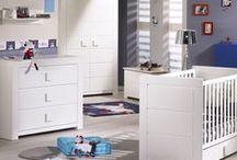 Chambre de bébé Zen Blanc / Découvrez la collection de meubles Zen Blanc pour une chambre de bébé ultra moderne !