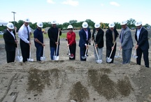Robert Marini Builders, Inc. Groundbreaking / Robert Marini Builders, Inc. will break ground on a new, two-story,14,000-square-foot building along Route 9 in Loudonville. The second floor of the building will house Marini's new corporate headquarters, currently located at 10 Enterprise Avenue in Clifton Park. The first floor will become Bellini's Italian Eatery Loudonville by Marrello Restaurants and Catering.