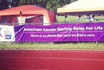 Albany/Colonie Relay For Life  / Relay For Life is an American Cancer Society fundraiser that takes place overnight. The local Relay of Albany/Colonie is held at Christian Brother's Academy in Colonie. The Relay for Life is a chance for people to come together, share their stories, and work around the clock to reach their goals and to show the world that cancer never sleeps. The event took place on Saturday June 15, 2013.