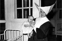 Vintage Photos / Old pictures from Catholic Charities' past...
