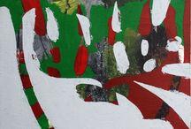 Meu trabalho / My work / All acrylic on canvas