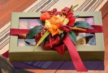 Gift Wrapping / There are so may creative ways to wrap a gift to give it that extra special edge.