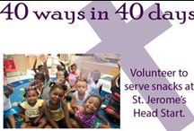 Giving / Lent 2014 - 40 acts of charity