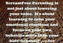Parenting / Parenting with heart - babies - teens - young adults
