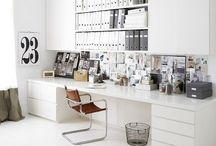 h o m e   o f f i c e / Inspiration for home office