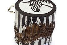 African Instruments | Musical Instruments of African Culture: Drums, Rattles, and More! / African American authentic musical instruments. Our tribal drums are handmade in Gambia. the Ivory Coast, Guinea and Senegal. Our African instruments also include Cowry Shell  Enjoy your African music with these authentic instruments the Shekere, Djembe Drum Shakers Tsink-Tsink, GanKeKe Bell  and Straw Wicker Rattles - Bambara, Malian Kora and Balafon. Great for any African American tribal ceremony. #music #instruments #drums #drummer #africa #african