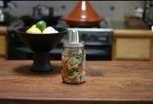 Fermented Foods / Fermented foods, such as sauerkraut, pickles, kimchi, yogurt, and other lacto-fermented edibles.