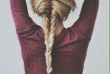 h a i r / Inspiation for hair and hairstyle