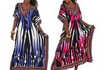 Womens Afrocentric Apparel / Discover a world of Kaftans in an array of colors and styles. We carry Afrocentric Elephant Kaftans, cheetah Kaftans, draw string Kaftans and Batik Kaftans. So comfortable and many of these include an African head wrap. Check out the many African styles we carry.