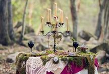 Woodsy Weddings / Romantic settings in the great outdoors.