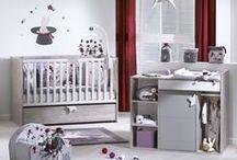 Chambre de bébé Nova /  Découvrez la collection de meubles Nova, pour une chambre de bébé chic !