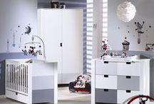 Chambre de bébé City Gris / Découvrez les collections de meubles City,  au choix pour la de votre bébé, version Gris, Rose ou Bleu !