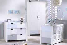 Chambre de bébé City Bleu / Découvrez les collections de meubles City,  au choix pour la de votre bébé, version Gris, Rose ou Bleu !