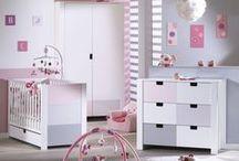 Chambre de bébé City Rose / Découvrez les collections de meubles City,  au choix pour la de votre bébé, version Gris, Rose ou Bleu !