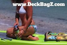 Paddle Boarders / See who's paddle boarding!!  So many people are becoming paddle boarders, getting fit & enjoying their SUP sessions. https://DeckBagZ.com