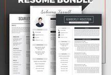 Resume Templates / ResumeExpert.Etsy.com