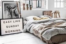 bedroom.style / its all about the coziest place: the bedrooms