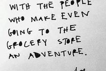 OVERT // Dear Diary / Words to live by, especially on the days when life is just, hard.