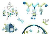 Textile et déco Patachon / Découvrez la collection textile et décoration Patachon pour la chambre de bébé !