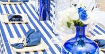 Nautical Theme Baby Shower ( Stacy Armand Event Design ) / Ahoy its a boy Baby shower theme  #babyshower #nautical #boats #woodencrates #ahoy #boybabyshower #stripes #lighthouse