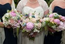 Bridesmaids Bouquets and Flowers by A Vintage Wedding