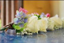 Buttonholes by A Vintage Wedding