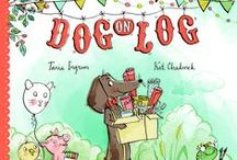 Dog on Log / Craft ideas to compliment the picture book Dog on Log by Tania Ingram and Kat Chadwick. Omnibus Books 2013