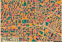 Graphic Geographies / Maps // Cities // Places