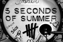 <3 5 Seconds Of Summer!! <3 / My heart beats for 5SOS. That's all i can say ^_^ <3  / by FangirlLlama :]