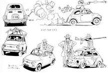 kifestő járművek