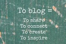 Bloggers :: To Learn / Tips and ideas for bloggers and the blogging community - call it my own personal blogging board if you will :) x