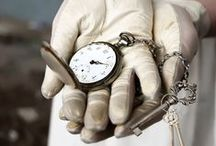 Clocks and Keys /   Time to close and to continue. Time to open and find out. / by Almadiana Silva Amado