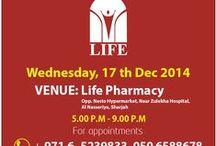BLOOD DONATION DRIVE / #uae #donateblood #donatelife Blood Donation Drive to be held today, Wednesday 17th December 2014 at LIFE Pharmacy #sharjah opp Nesto Hypermarket, Near Zulekha Hospital from 5.00pm onwards...