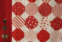 Quilts and knitting