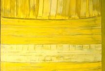 Yellow(-earth) paintings / Yellow is the colour of the sun but not only. Try to figure out the meaning of yellow and ochre tones in some masterpieces of the following 20th century paintings in the Museo Novecento (Florence).