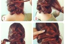 diy hairstyles / Get inspired by this board full with hairstyle tutorials and step-by-step instructions