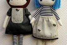 Rag dolls and cuddly toys
