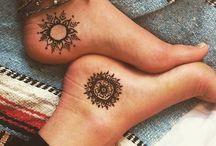 Sun n' Moon • universum • tattoo