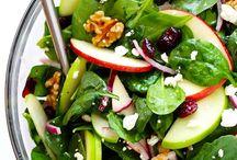 Salads / Pasta + Rice + Couscous + Quinoa + Orzo